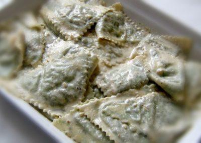 Pansoti al sugo di noci - ristorante albergo villa margherita