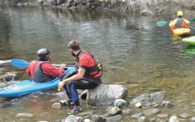 Kayak e river walking sul Torrente Orba
