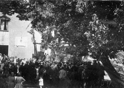 Acquabianca Inaugurazione campane 1928